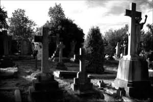 сон кладбище могилы