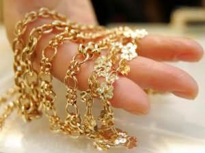 сон золотые украшения