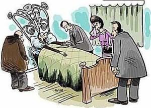 часто снятся умершие люди