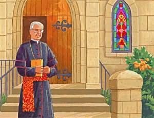 во сне знакомый священник