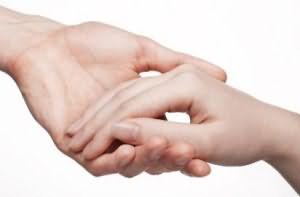приснилась рука в руке