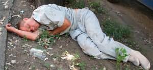 пьяный мужик во сне