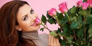 подарили букет цветов