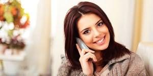 разговаривать по телефону с мужчиной