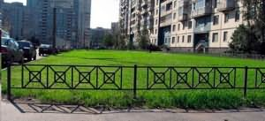 низкий забор