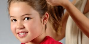 заплетать волосы ребенку
